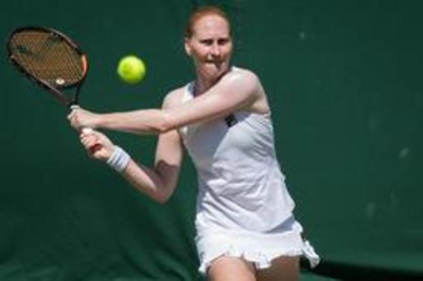 WTA Karlsruhe - Alison Van Uytvanck zit bij laatste acht