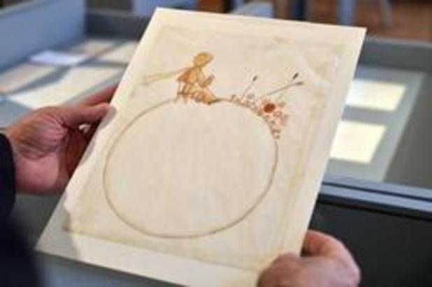 Des esquisses du Petit Prince retrouvées dans une vieille maison en Suisse