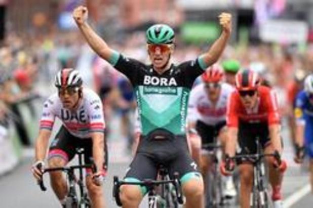 Ackermann snelt naar zege in eerste rit Ronde van Duitsland