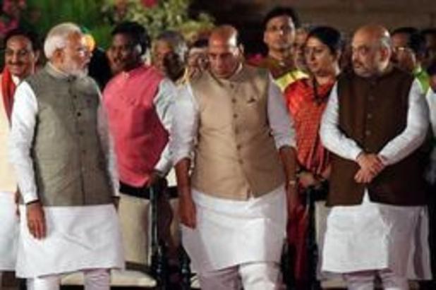 Rechterhand van Indiase premier Modi wordt nieuwe minister van Binnenlandse Zaken