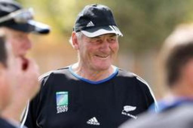 Décès de Brian Lochore, légende des All Blacks