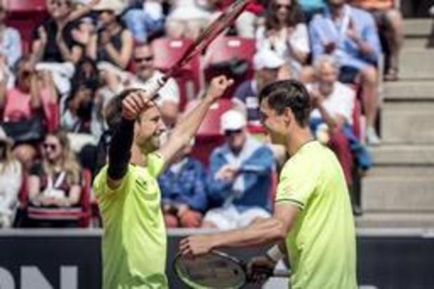 Sander Gille en Joran Vliegen veroveren tweede ATP-titel