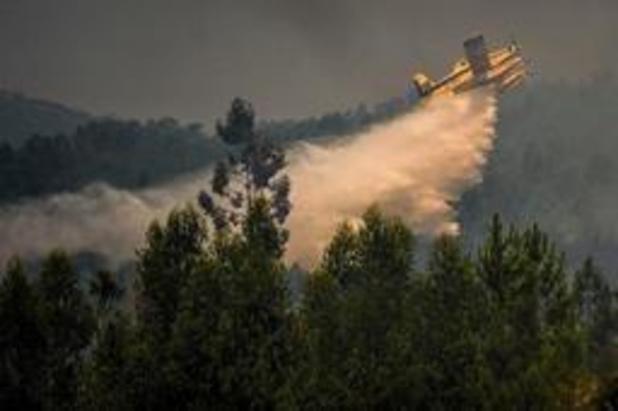 """Portugal: feux de forêt """"maîtrisés à 90%"""""""