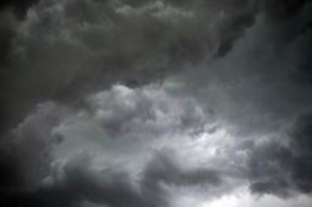 Windhoos veroorzaakt zware schade in Bree