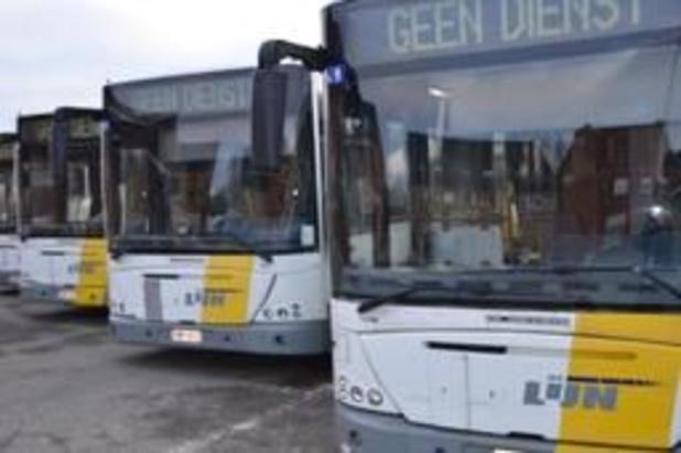 Vakbondsactie verstoort busverkeer in Antwerpen na agressiegeval op chauffeur