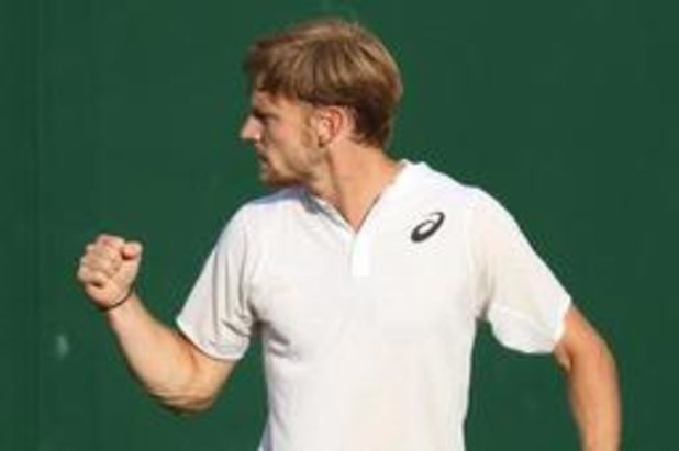 David Goffin rejoint le 2e tour sur un triple 6-4 à Wimbledon