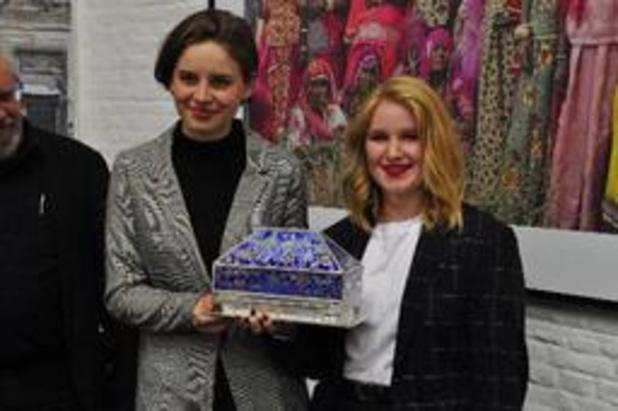 Anuna De Wever en Kyra Gantois ontvangen Arkprijs