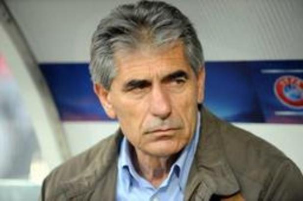 Le sélectionneur grec Angelos Anastasiadis limogé