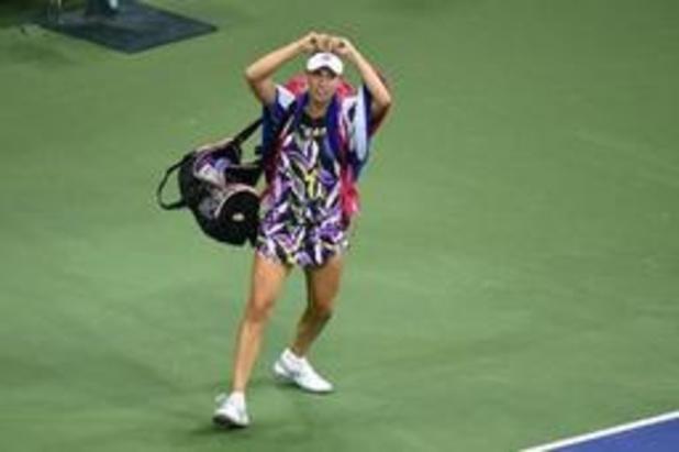 US Open - Elise Mertens gagne avec Sabalenka, 1er succès belge en double en Grand Chelem depuis 2004