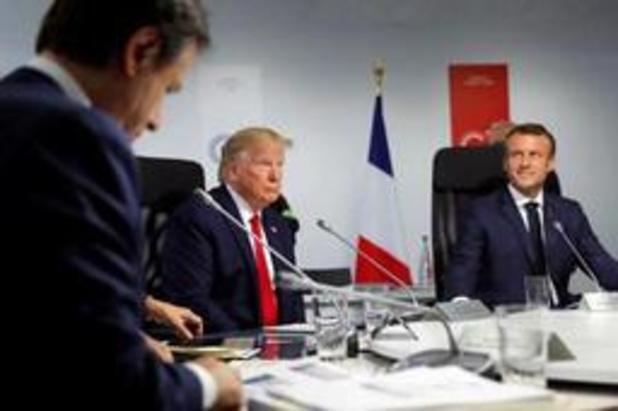 """Trump: """"eenheid"""" in G7 over Iran"""