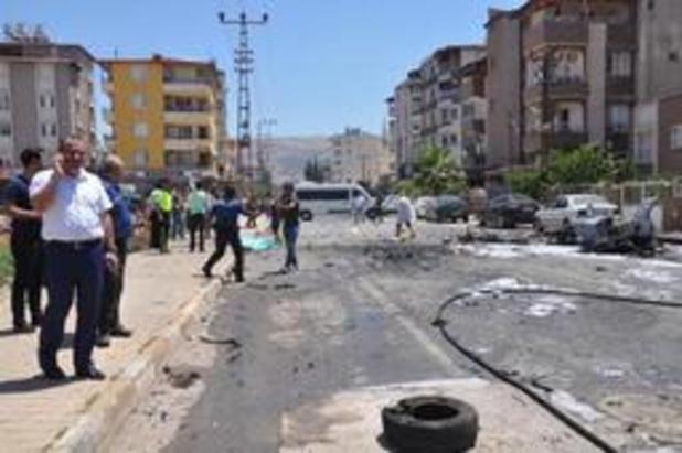 Drie Syriërs gedood bij vermoedelijke bomaanslag in Turkije