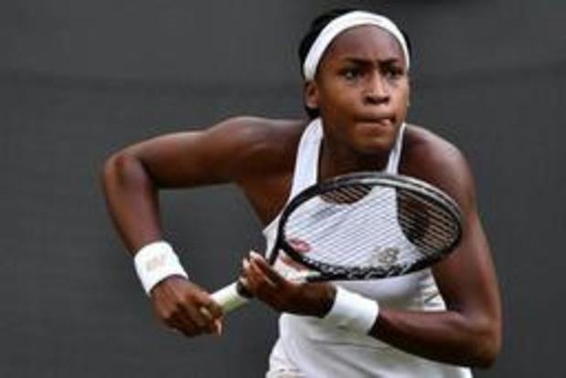 Wimbledon - 15-jarige Amerikaanse debutante schakelt vijfvoudig toernooiwinnaar Venus Williams uit