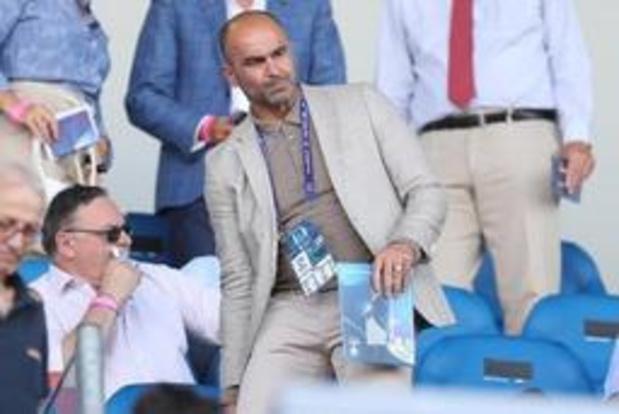 """Euro espoirs 2019 - Roberto Martinez sur la défaite des Diablotins: """"Un manque d'expérience dans un tournoi"""""""