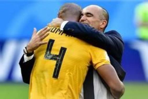 """Rode Duivels - Roberto Martinez over 'transfer' Kompany: """"Hij heeft alle kwaliteiten van een goede coach"""""""