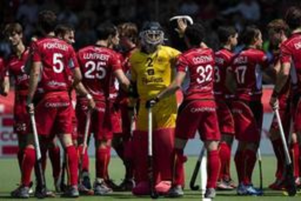 Hockey Pro League (m) - Red Lions houden Nederland uit finale