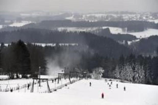 Deux pistes de ski alpin accessibles dans les Fagnes dès jeudi