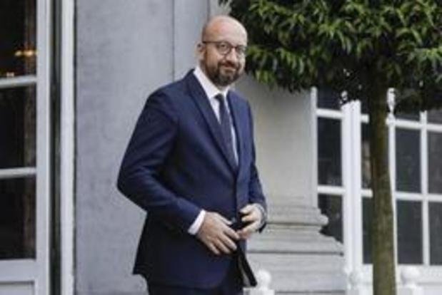 """Michel ontkent politieke deal met linkse oppositie """"met kracht"""""""