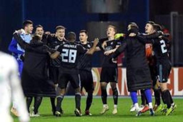 Ligue des Champions - Le Dinamo Zagreb et l'Olympiakos prennent une option sur la phase de poules