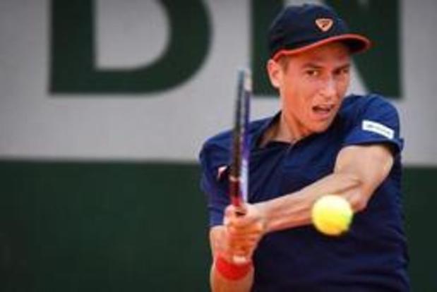 US Open: Coppejans battu au 3e et dernier tour