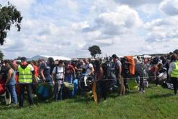 De Lijn vervoerde meer Pukkelpoppers dan vorig jaar