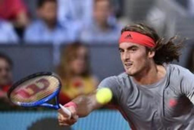 ATP Rome - Tsitsipas ponctue une très longue journée au Foro Italico par un succès contre Fognini