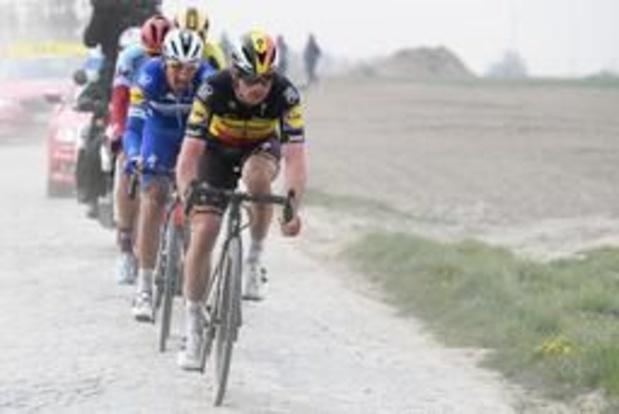 Parijs-Roubaix - Lampaert is tevreden met derde plaats