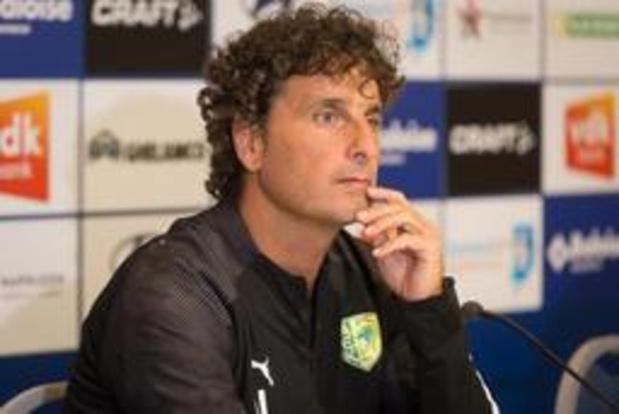 """Europa League - Larnaca-coach baalt van eerste tegentreffer: """"Wij waren toen betere ploeg"""""""