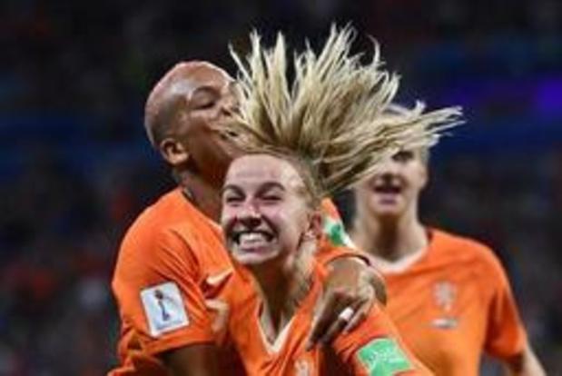 WK vrouwenvoetbal - Nederland plaatst zich na verlengingen tegen Zweden voor eerste WK-finale