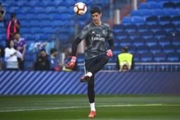 Geblesseerde Courtois ontbreekt in selectie van Real Madrid