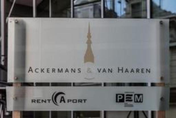Bénéfice record pour Ackermans & van Haaren au premier semestre