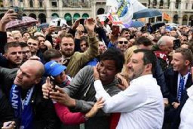 La Ligue de Salvini en tête en Italie