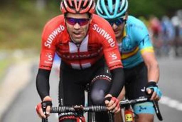 Ook geen Vuelta voor Tom Dumoulin