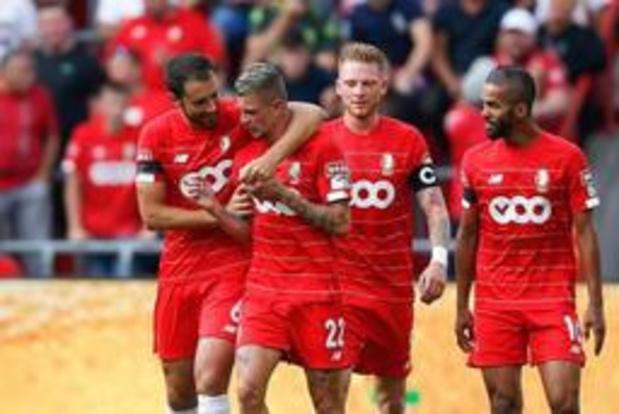 Deuxième succès de rang pour le Standard de Liège face à Zulte-Waregem