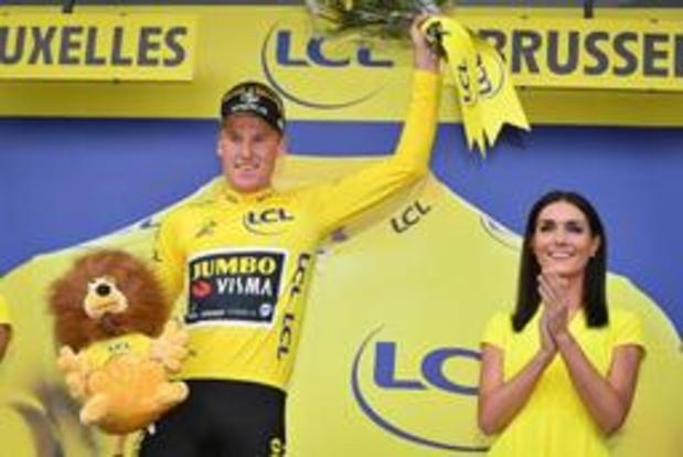 Tour de France - Mike Teunissen, un maillot jaune qui reste au service de son leader