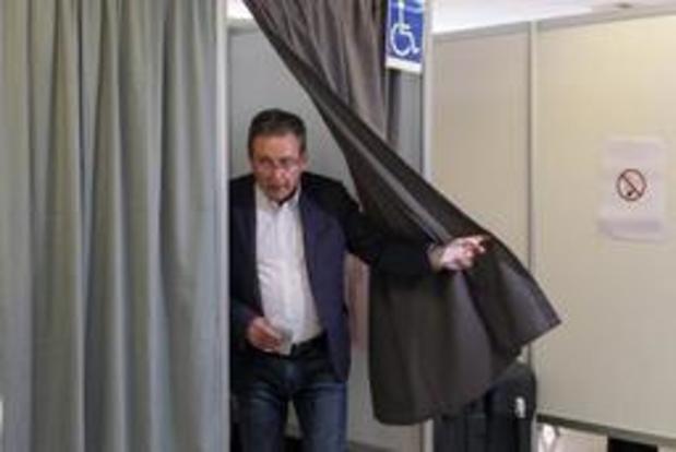 Le ministre-président bruxellois Rudi Vervoort a voté à Evere
