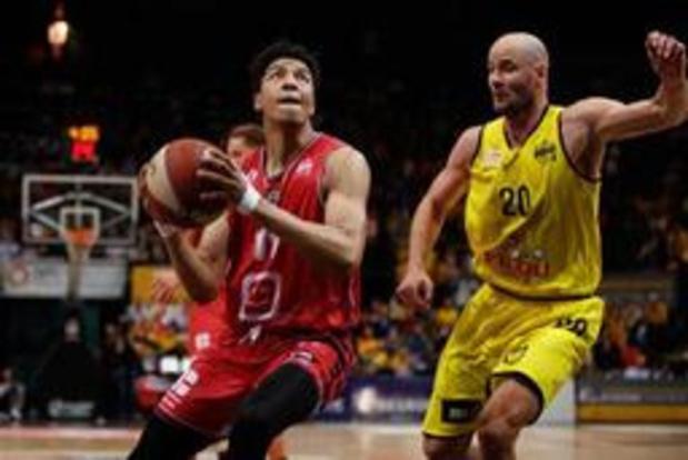 Euromillions Basket League - Anvers s'impose à Ostende et revient à 1-1 en finale des playoffs