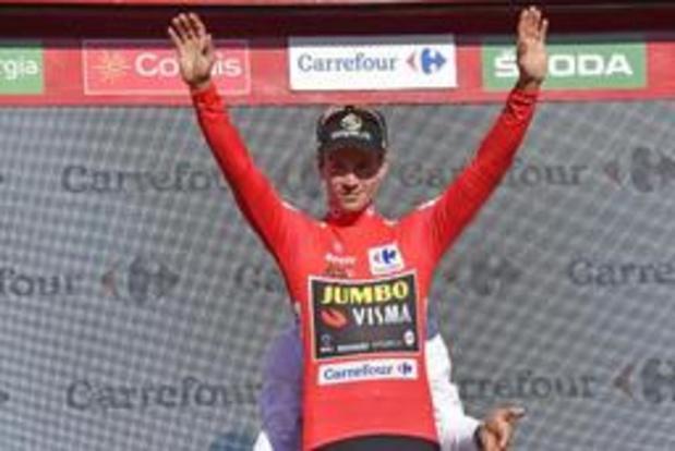 """Roglic: """"De Vuelta is nog niet voorbij"""""""