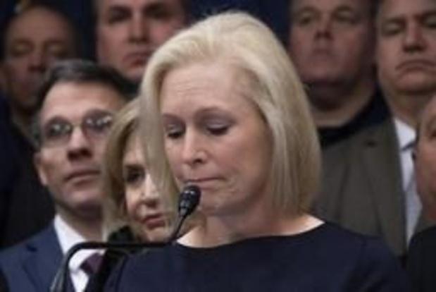 Senator Kirsten Gillibrand stapt uit race naar Witte Huis