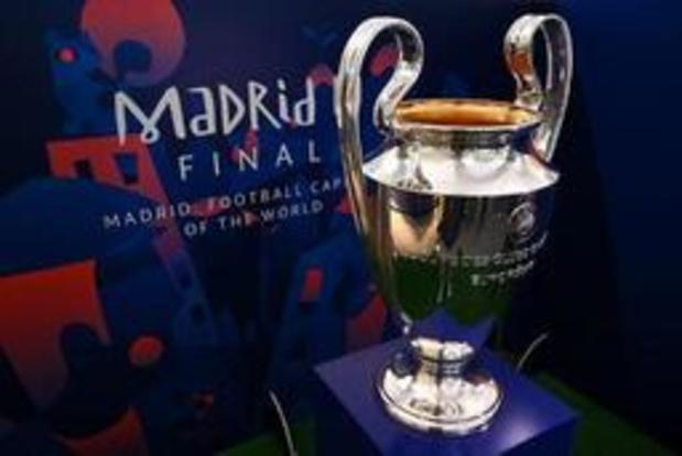 Ligue des champions - Quatre Belges et deux clubs anglais en finale à Madrid