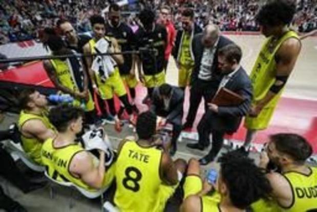 """Ligue des Champions de basket - """"Pas un super match, mais suffisant pour la qualification"""", résume le coach d'Anvers Moors"""