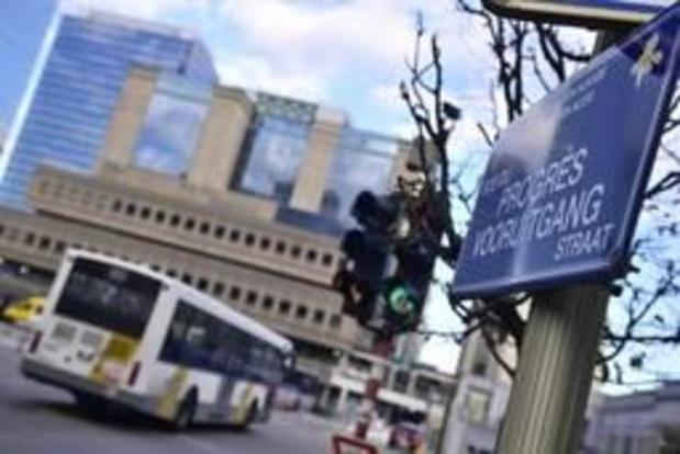Bruxelles-Nord - Les conducteurs de bus De Lijn refusent à nouveau de s'arrêter à la gare de Bruxelles-Nord