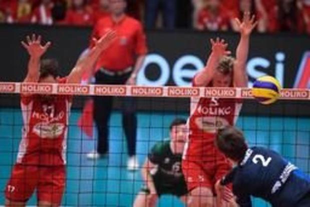 Euromillions Volley League - Maaseik staat op een zege van titelverlenging