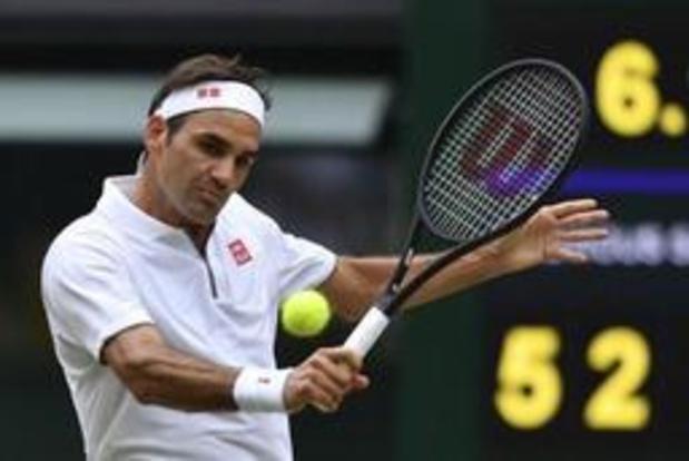 Wimbledon - Roger Federer poursuit son parcours sans trembler