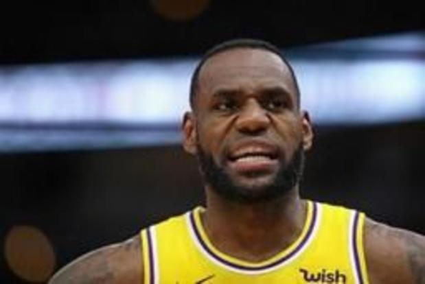 Basket - NBA - Les Lakers mettent fin à la saison de LeBron James