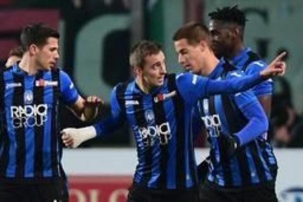 Serie A - L'Atalanta gifle Bologne et revient à un point de Milan