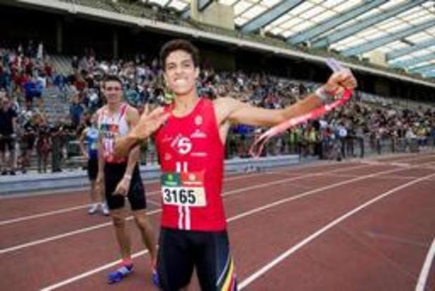 Mémorial Van Damme - Jonathan Sacoor, 7e du 400m en 45.72, est parti trop vite