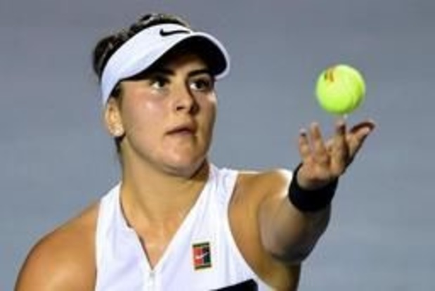 WTA Miami - Nieuw fenomeen Andreescu moet opgeven met schouderblessure