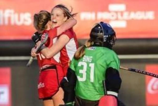 Les Red Panthers battent les Etats-Unis 2-1 et confortent leur 3e place au classement