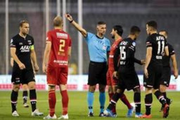 L'Antwerp et Bolat poursuivis par l'UEFA suite aux incidents contre AZ Alkmaar à Bruxelles
