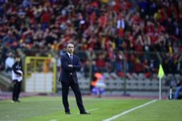 """Diables Rouges - """"Nous avons fait notre boulot"""", se réjouit Roberto Martinez"""